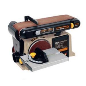H&H ベルト&ディスクサンダー HBDS-100 ベルトサンダーベルトディスクサンダー ベルトペーパー1枚、ディスクペーパー1枚付|e-tool-shopping