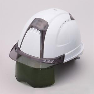 トーヨー ヘルメット Ventiプラス シールドレンズ内臓 391F-S-G 溶接面|e-tool-shopping