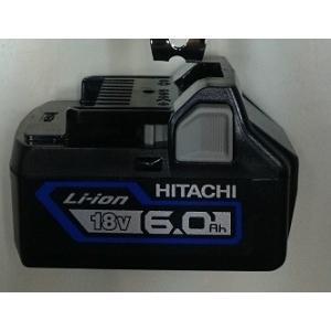 日立工機 電池 BSL1860 18V 大容量 6.0Ah リチウムイオンバッテリー 限定色 ソリッドブルー 6Ah e-tool-shopping