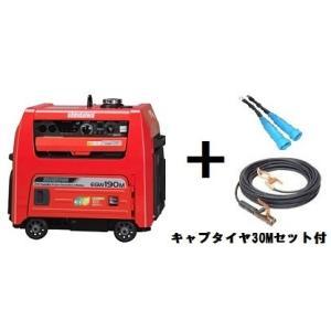 在庫有り!送料無料!(沖縄、離島・北海道除く)新ダイワ(やまびこ) エンジン発電 溶接機 EGW190M-IST 30mキャプタイヤコード付 ウエルダー |e-tool-shopping