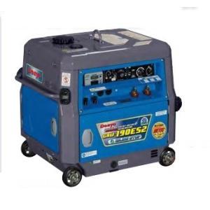 送料無料!(但し、沖縄・離島を除く)デンヨー 小型ガソリンエンジン溶接・発電機 GAW-190ES2 溶接機|e-tool-shopping