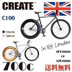 CREATE bikes  CREATE-C100 クリエイトバイク クロスバイク 700c シングルスピード スポーツ おすすめ自転車 人気クロスバイク  おしゃれ|e-topone