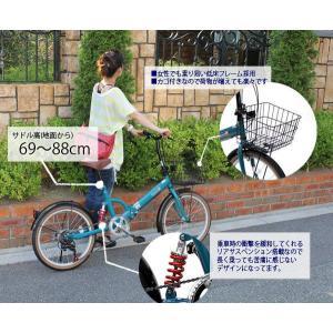 超特価 送料無料 折りたたみ自転車 20インチ...の詳細画像1