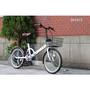 超特価 送料無料 折りたたみ自転車 20インチ カゴ付き シマノ6段変速ギア リアサス カギ・ライト付き FS206LL-37 TOPONE 折り畳み自転車|e-topone|06