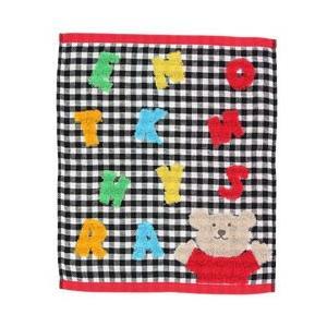 表ガーゼ裏パイル風 レインボーベアーシリーズ ハンカチやタオルは汗をかく、外で遊んだあとの手洗い毎日...