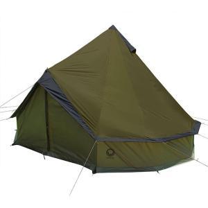 【2021年モデル】Grand Canyon(グランドキャニオン) Indiana (インディアナ)8人用 テント オリーブ|e-TRADE SERVICE