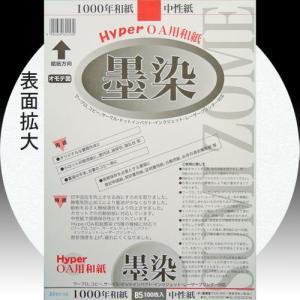 28904 HyperOA和紙 墨染B5判 1袋100枚入 【メール便対応】|e-unica