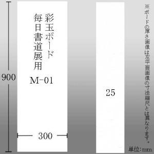 603628 彩玉ボード 毎日書道展用厚さ25ミリ M-01 300*900*25mm【メーカー直送・代引不可】|e-unica