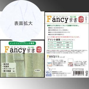 609033 インクジェット専用 Fancy和紙はがき 大礼紙 20枚入り IJT-700 【メール便対応】|e-unica