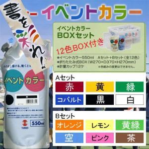 623271 イベントカラー スパウトパック550ml入り 12色BOX付きセット|e-unica