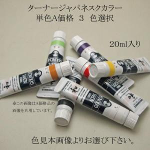 水墨画用品 ターナー色彩 ターナージャパネスクカラー 20ml 単色A価格グループ3 色選択/メール...