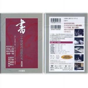 800204 DVD 書 二十世紀の巨匠たち 第四巻 新しい書表現  天来書院 【メール便対応】