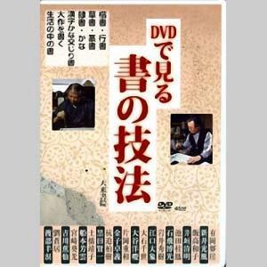 800207 DVD DVDで見る書の技法  天来書院 【メール便対応】