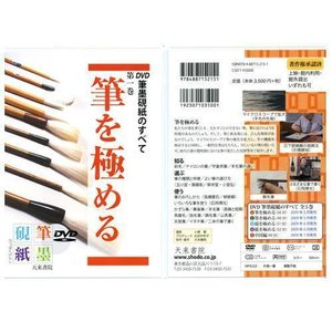800211 DVD 筆墨硯紙のすべて 第一巻 筆を極める  天来書院 【メール便対応】