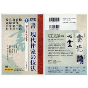 800231 DVD 書―現代作家の技法 1 製作の基礎・楷書  天来書院 【メール便対応】