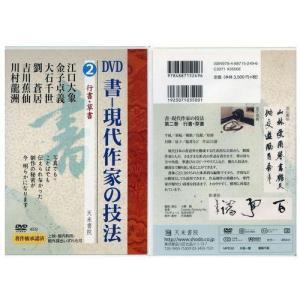800232 DVD 書―現代作家の技法 2 行書・草書  天来書院 【メール便対応】
