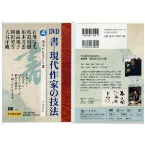 800234 DVD 書―現代作家の技法 4 漢字かな交じり書  天来書院 【メール便対応】