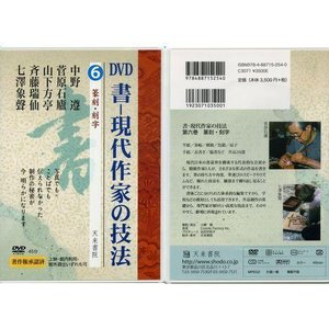 800236 DVD 書―現代作家の技法 6 篆刻・刻字  天来書院 【メール便対応】