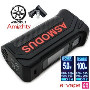 Asmodus Amighty 100W Touch Screen TC Box MODアスモダス アマイティ|e-vapejp