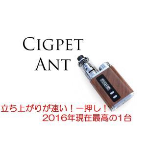 2016年最高の組み合わせCIGPET ANT+SERPENT mini+VTC5 e-vapejp