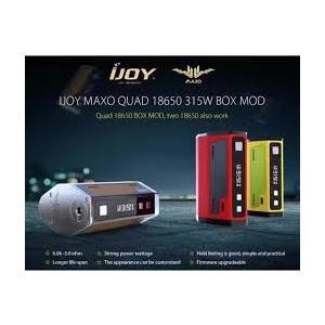 IJOY MAXO QUAD 18650 TC BOX MOD +Wismec Inde Duo RDAクワッド!|e-vapejp