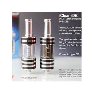 Innokin iClear 30B BDCC Clearomizer 3ml 2個セット|e-vapejp