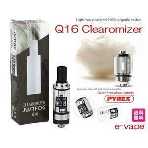 JUSTFOG Q16 Clearomizer 1.9ml|e-vapejp
