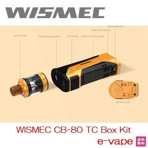 WISMEC CB-80 TC Box Kitウイスメック|e-vapejp