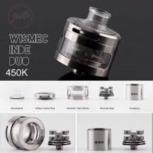 WISMEC INDE DUO RDA Atomizer 送料無料|e-vapejp