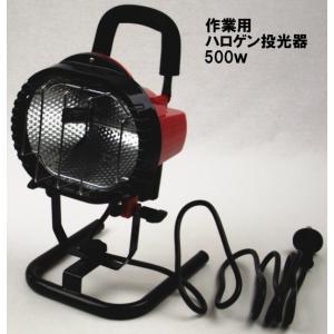 ハロゲン投光器500W(新光電気製作所) e-yamaho