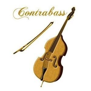 蒔絵シール Musical Instruments コントラバス e-yoshiyagakki