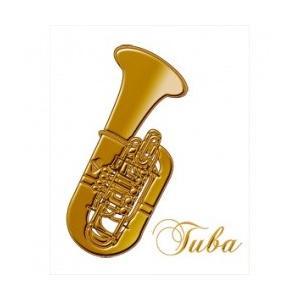 蒔絵シール Musical Instruments テューバ e-yoshiyagakki