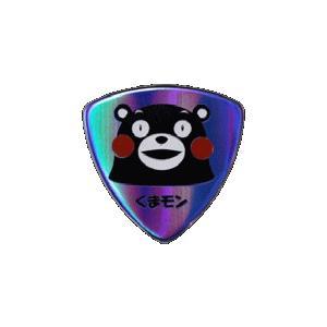 くまもんピック P-KUMA/075 メタリック仕様ピック 限定カラー/メタリックブルー (1枚売り)|e-yoshiyagakki