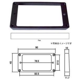 エスカッション MR-FB ストレート、フロント(ブラック)SCUD(スカッド)|e-yoshiyagakki
