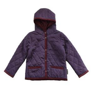ジャケット コート キルティングジャケット キッズ フード キルティングコート 子供服 子ども 女の子 男の子 アウター 秋冬 zootie BAMBINI