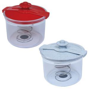 漬物容器 漬け物容器 簡単 手作り 浅漬け 自宅 即席  密封保存容器 漬け物三昧 レッド ホワイト|e-zakkaya