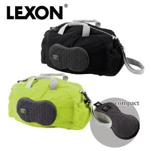 LEXON レクソン ボストンバッグ 軽量 旅行 折り畳み コンパクト ピーナッツジムバッグ LN1512