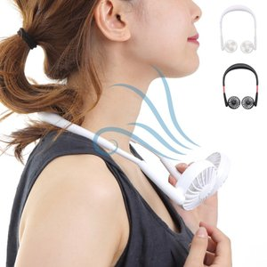 扇風機 首かけ 携帯用扇風機 充電式 USB 充電式 首かけ扇風機 ネックツインファン 熱中症対策 おしゃれ