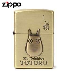 ジッポ ライター zippo トトロ スタジオジブリ となりのトトロ ジッポライター アニメ  オイルライター 小トトロ3 NZ-23