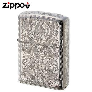 zippo ジッポーライター オイルライター 5面加工 アーマー KING2 プラチナ ギフト プレゼント 贈り物  喫煙具|e-zakkaya