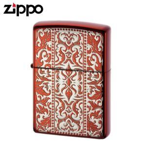 zippo ライター ジッポーライター アラベスク ブランド zippo アラベスク 唐草 レッド 赤 ギフト プレゼント 贈り物|e-zakkaya