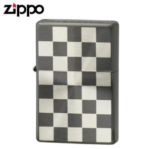 zippo ジッポー ライター ボトムズアップ スピンチェック B SV&BN