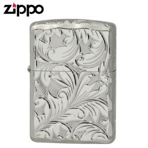 Zippo ジッポー Zippoライター ジッポライター 200 オイルライター 5面 彫刻  シルバー 5NC-LEAF A ギフト プレゼント 贈り物  喫煙具|e-zakkaya