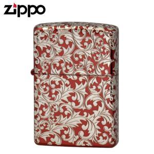 zippo ジッポー ライター オイルライター スプレンダー シルバー レッド