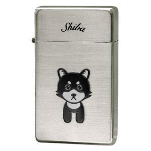 ターボライター SAROME サロメ ガスライター パイプライター SRM ラブリードッグ 柴犬 ギフト プレゼント 贈り物   メンズ Men's  おしゃれ|e-zakkaya