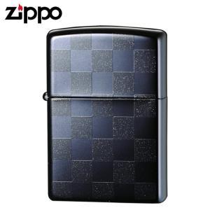 zippo ジッポーライター チェック 市松模様 チェッカーデザイン ブラック 25CKBK
