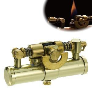 オイルライター スチームパンク かっこいい おしゃれ ミリタリー ビンテージ アンティーク 男性 喫煙具 デューク4 DUKE  ブラス 真鍮