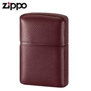 Zippo ジッポー ライター 革巻き 松阪牛革巻 キリコスター レッド