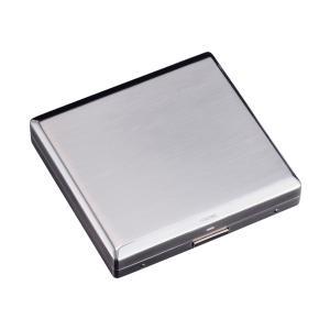 名入れ 彫刻対応 シガレットケース 煙草ケース タバコケース SAROME サロメ EXCC3-01 シルバーサテーナ 送料無料
