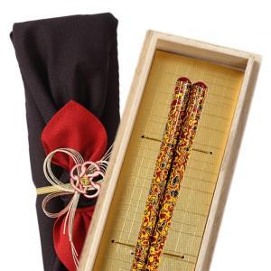 箸 食洗機対応 食洗器対応 22.5cm 若狭塗箸 日本製 砂金 000947
